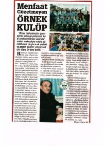 ÖSK Karadenizde Birlik GazetesiNİN Haberi