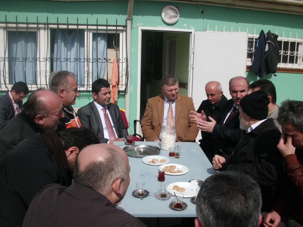 Vekil Osman Boyrazın ÖSK ziyareti